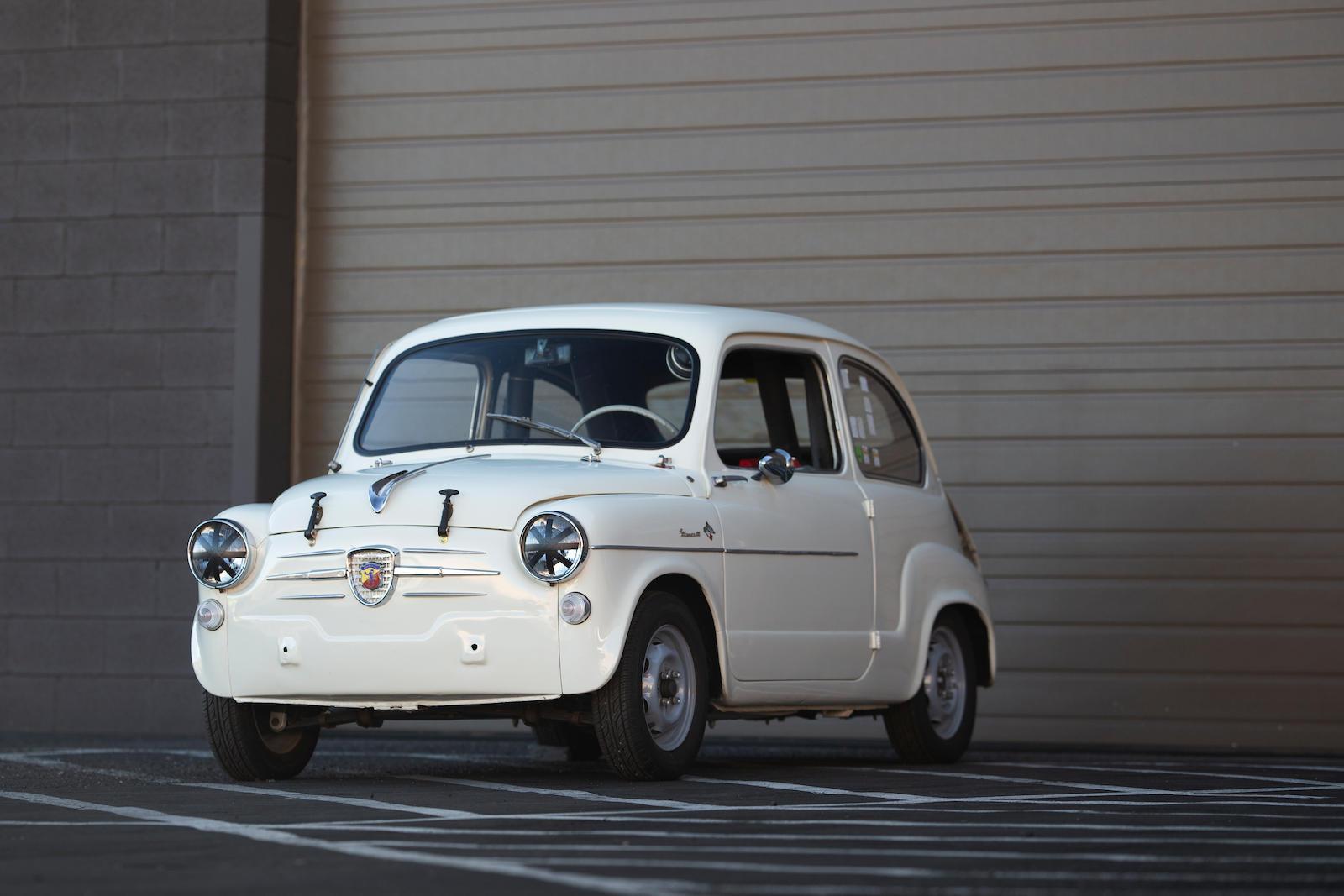 1959 Fiat-Abarth Berlina 750 Derivazione 3/4 front