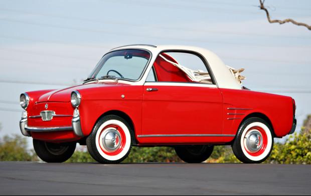 1960 Autobianchi Bianchina Trasformabile 3/4 front
