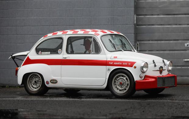 1965 Fiat-Abarth 1000 TC Berlina 3/4 front