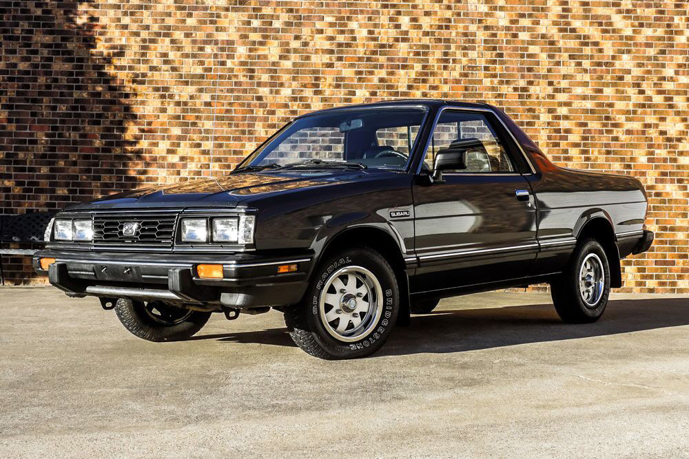 1987 Subaru BRAT 3/4 front