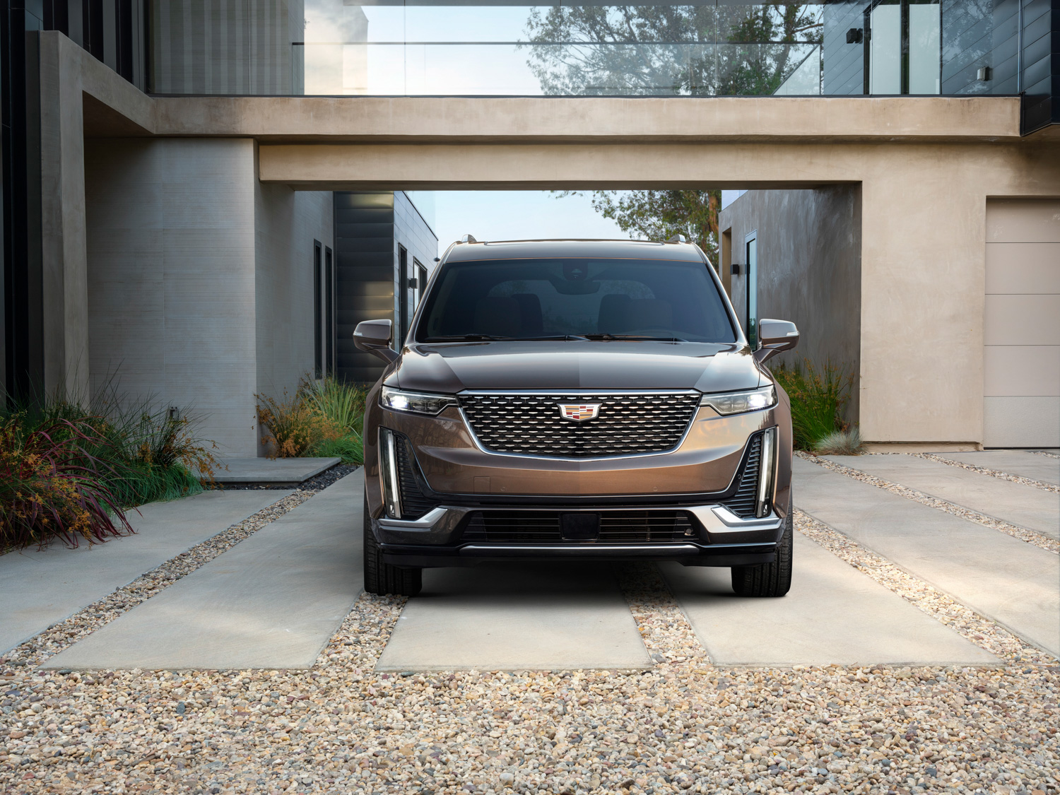 2020 Cadillac XT6 front grille