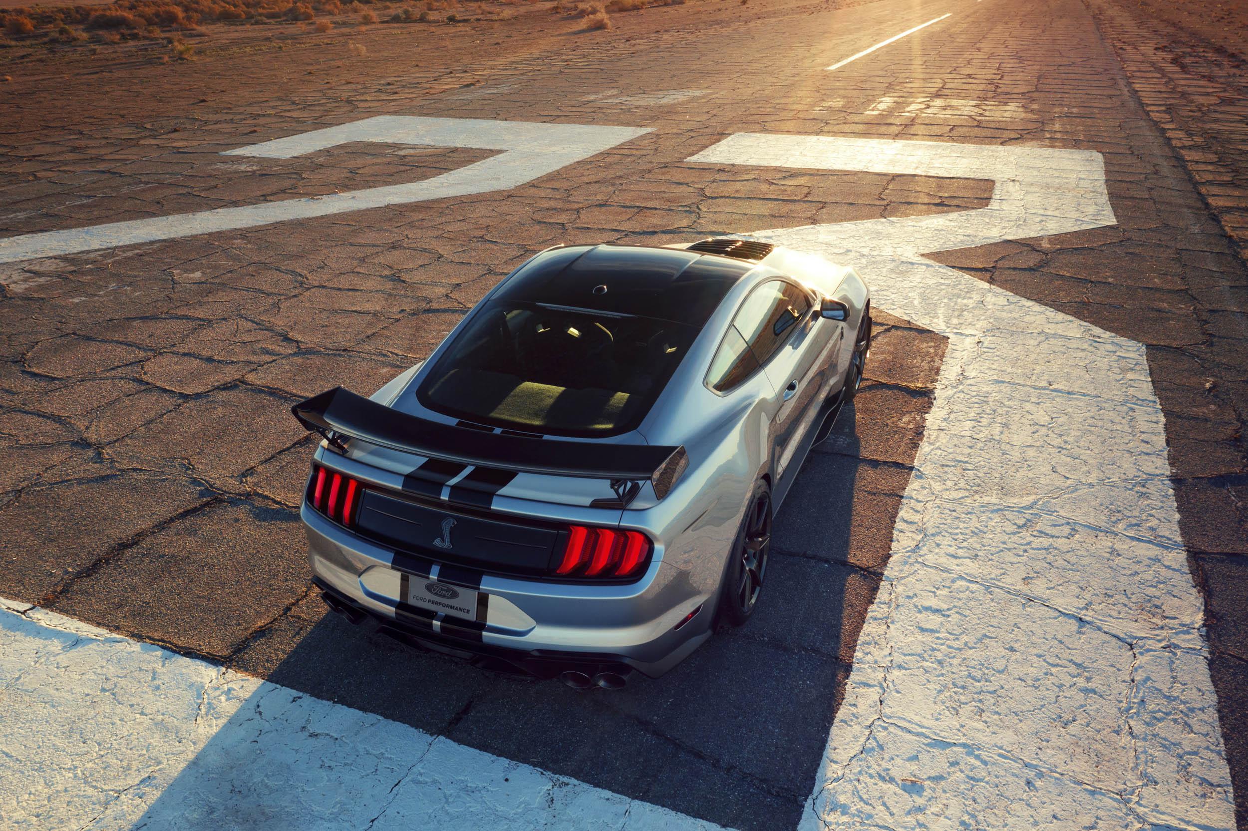 2020 Mustang Shelby GT500 rear 3/4
