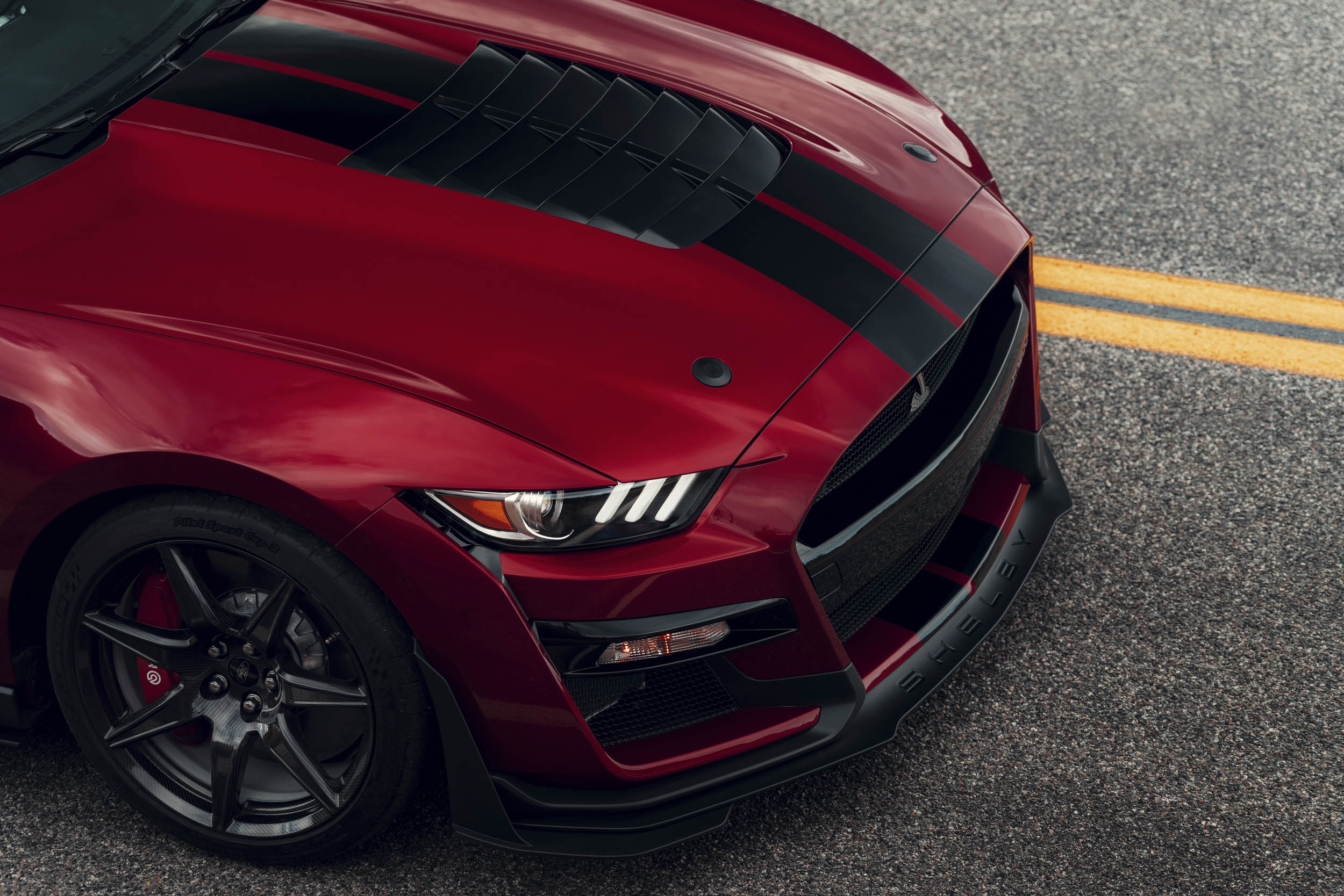 2020 Mustang Shelby GT500 nose