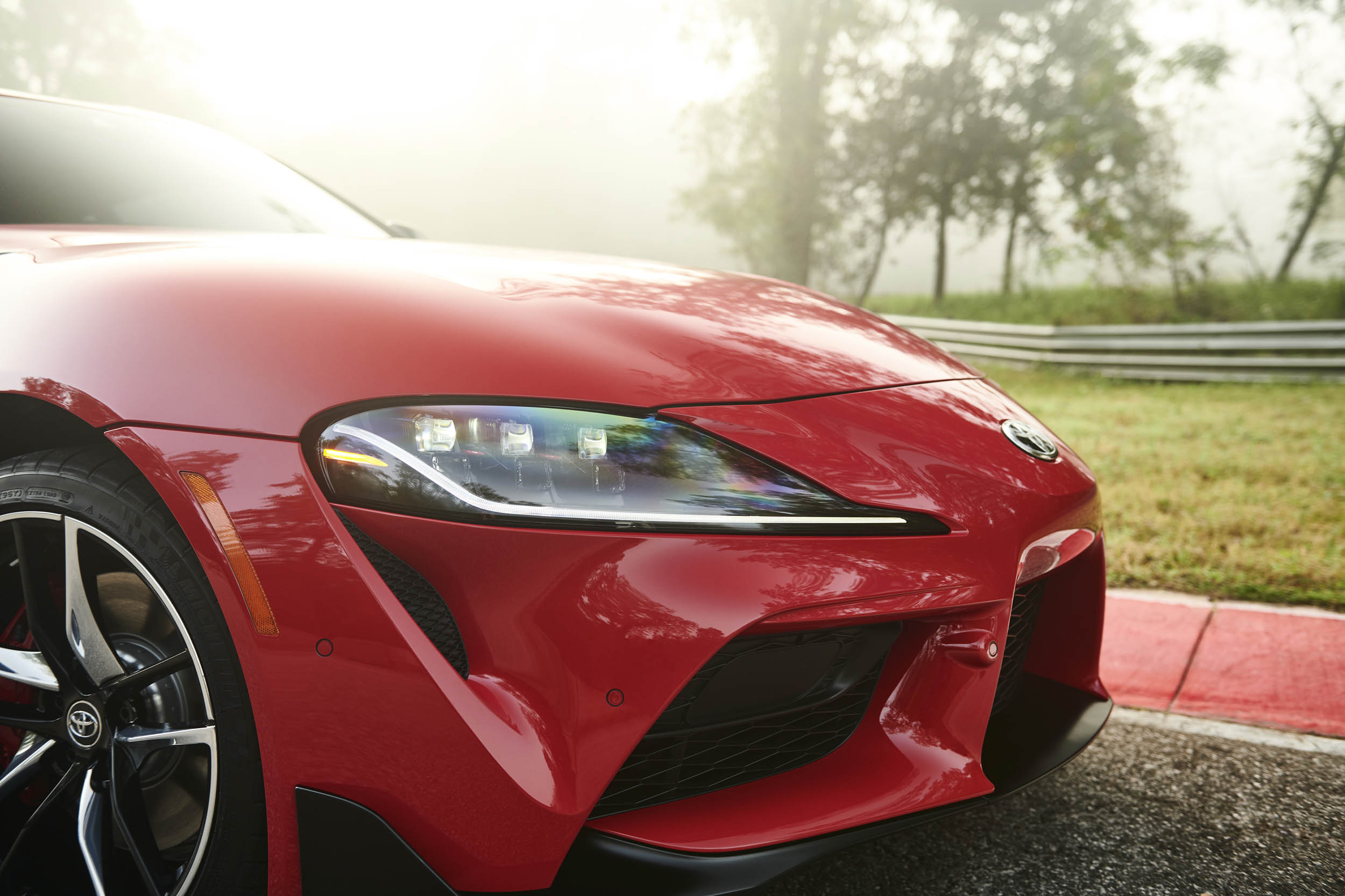 2020 Toyota Supra headlight