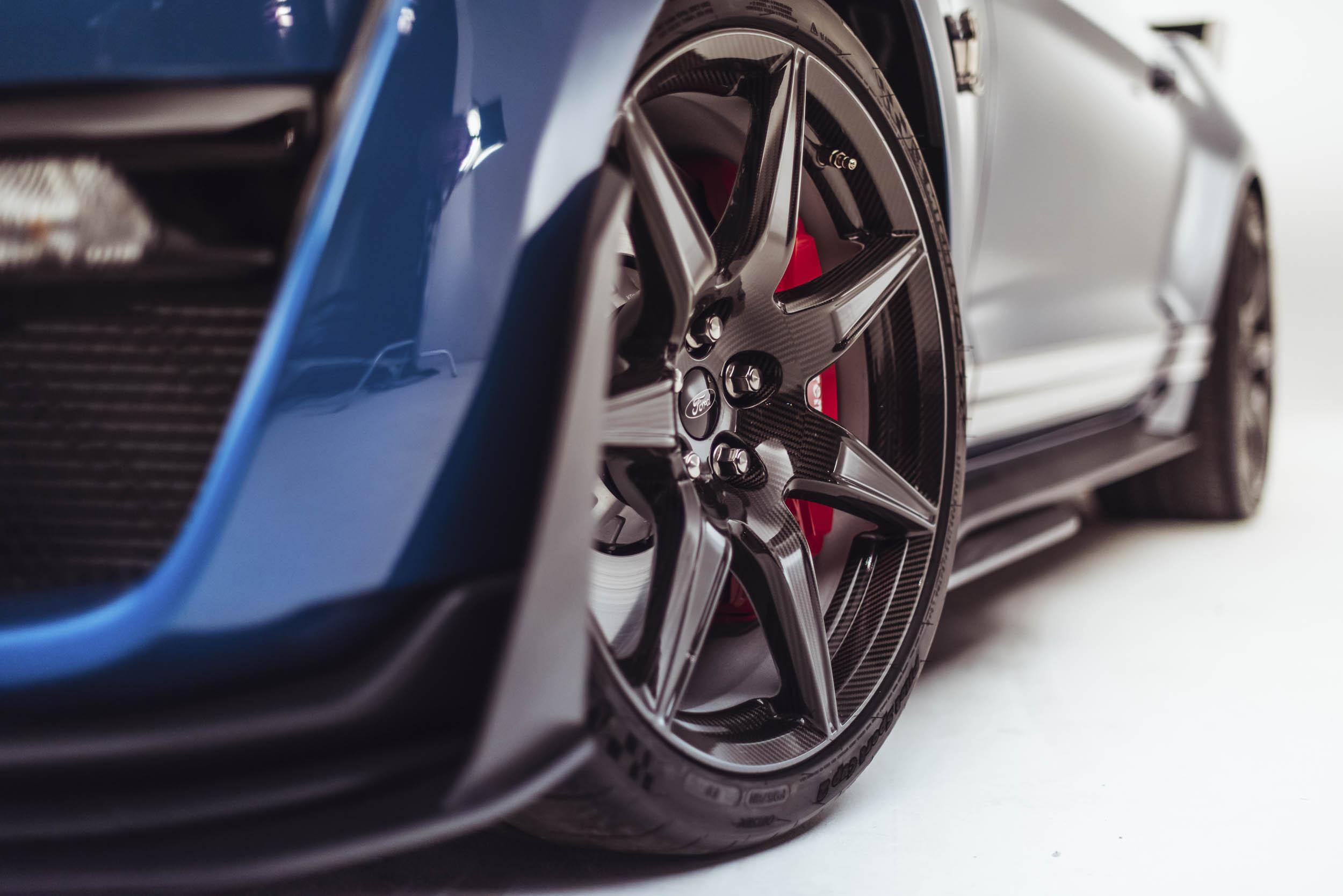 2020 Shelby GT500 wheel detail