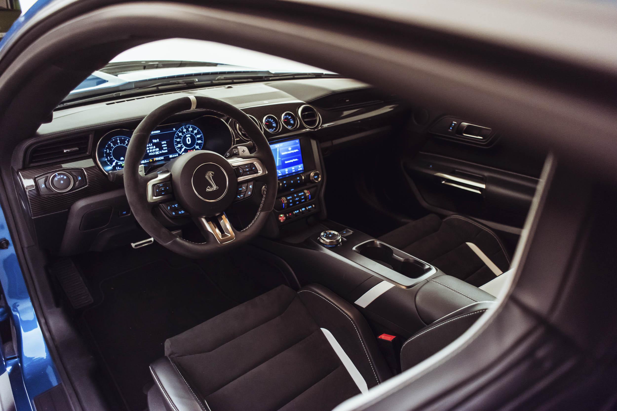 2020 Shelby GT500 cockpit