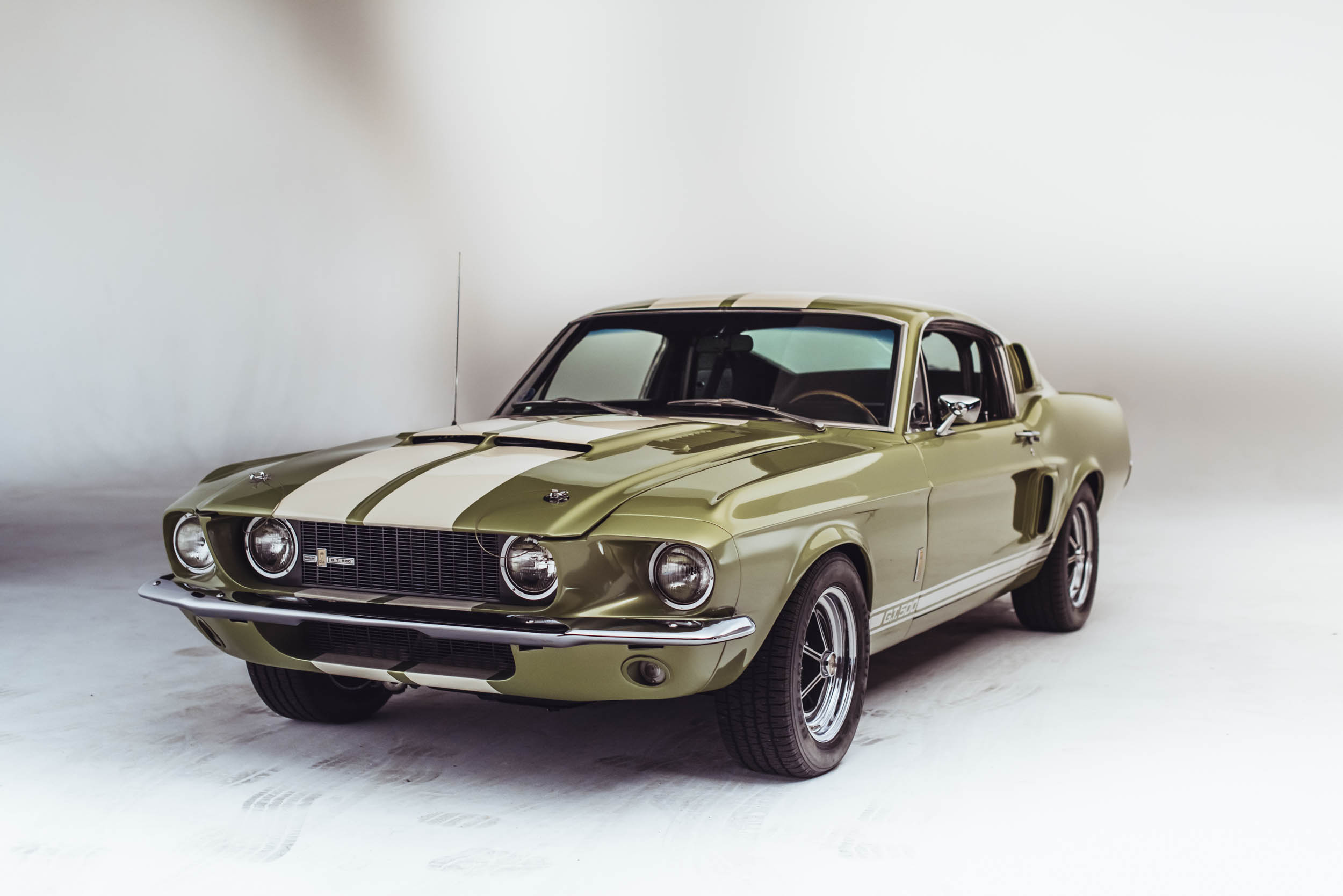 1967 Shelby GT500 front 3/4