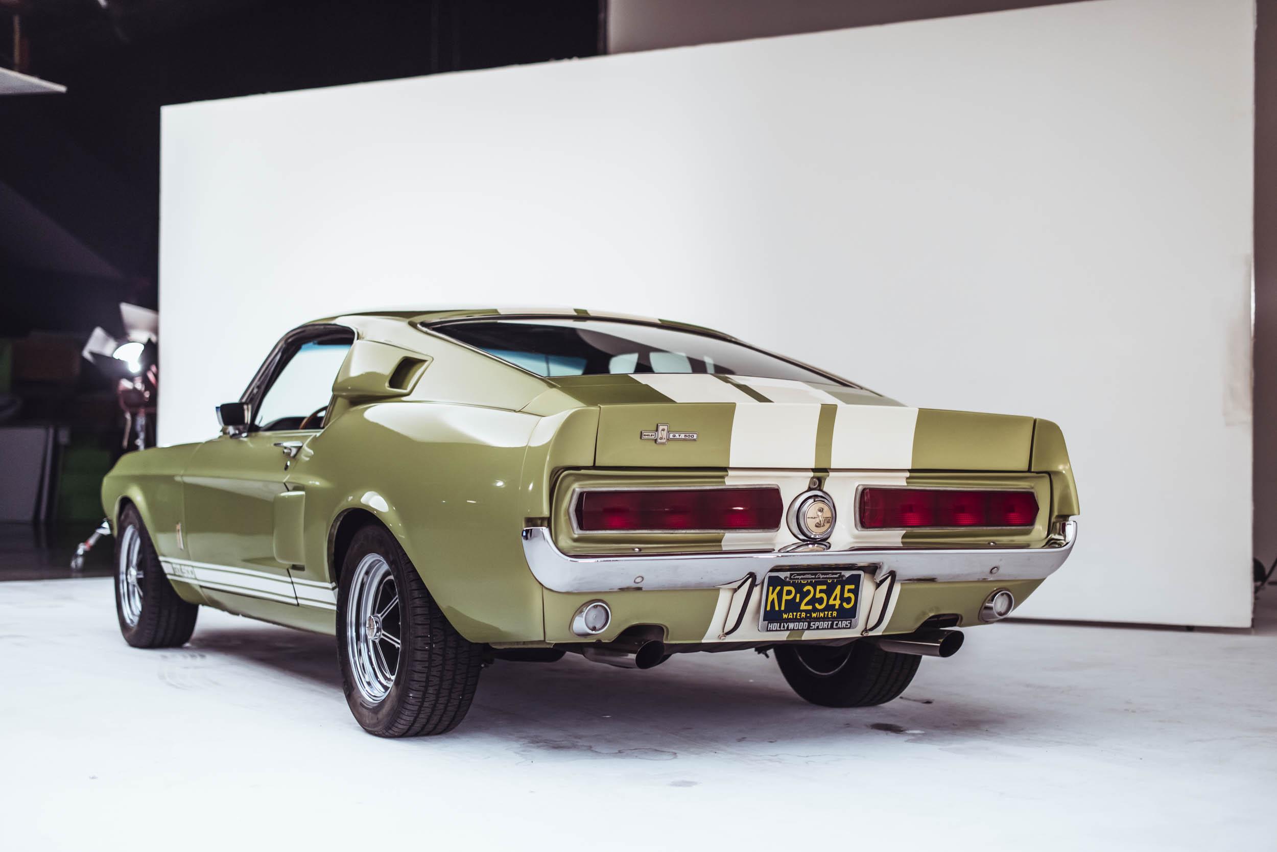 1967 Shelby GT500 rear