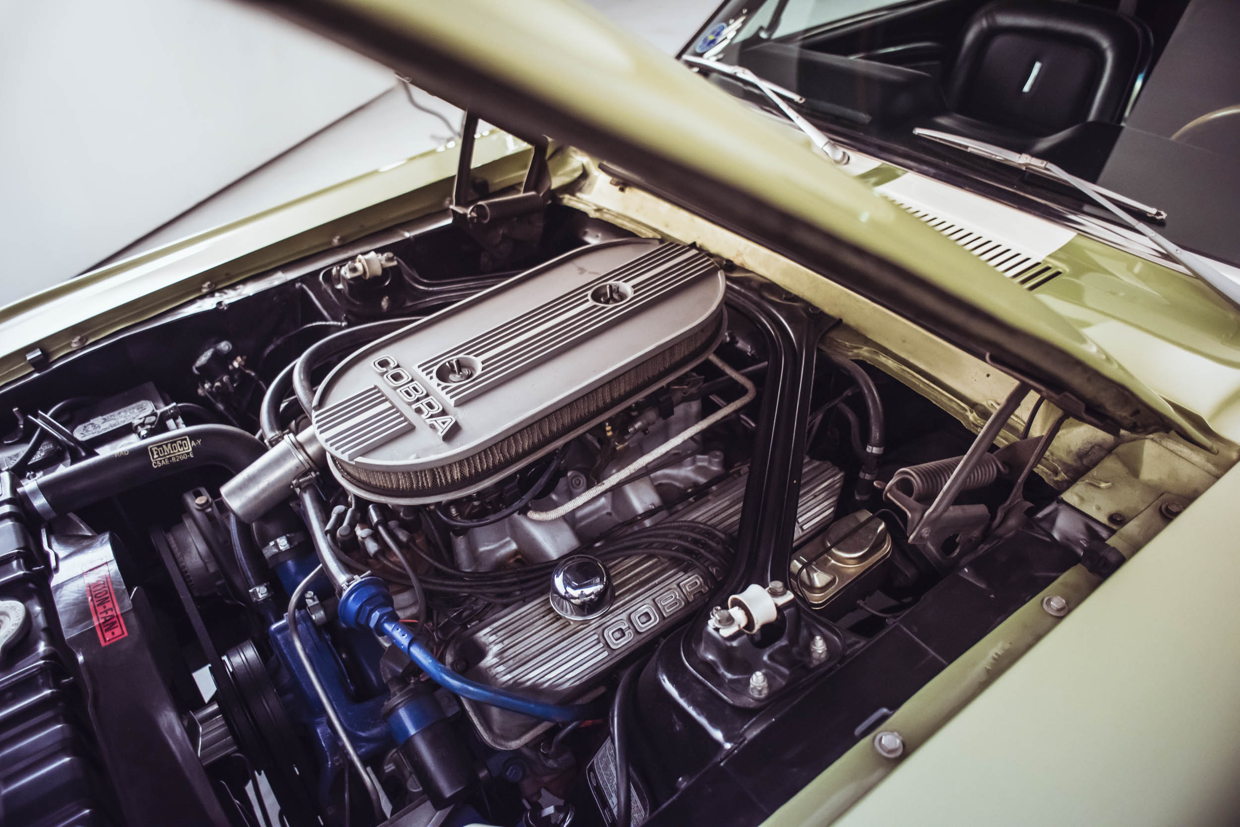 1967 Shelby GT500 engine