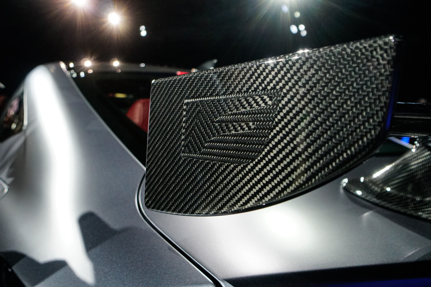 2020 Lexus RC F Track Edition wing detail