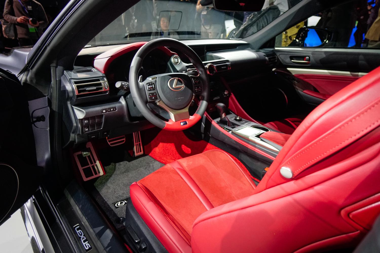 2020 Lexus RC F Track Edition interior