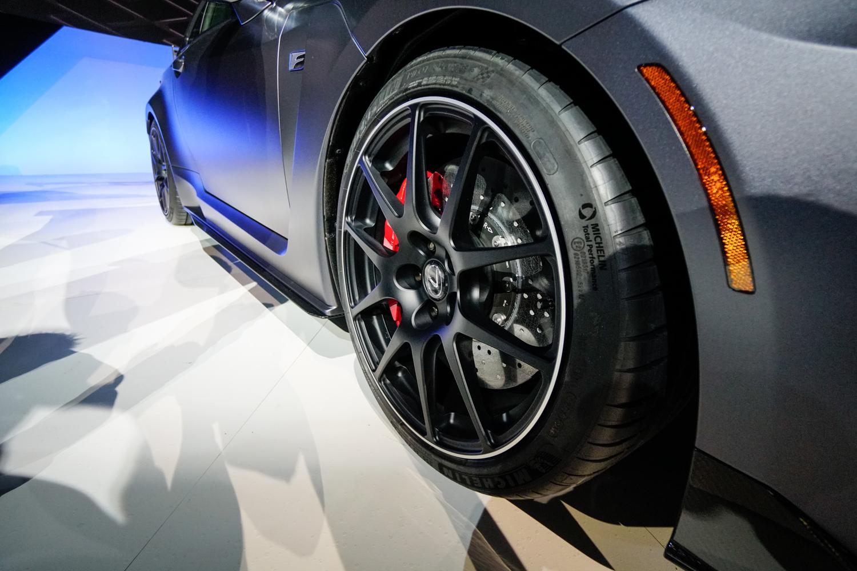 2020 Lexus RC F Track Edition wheel detail