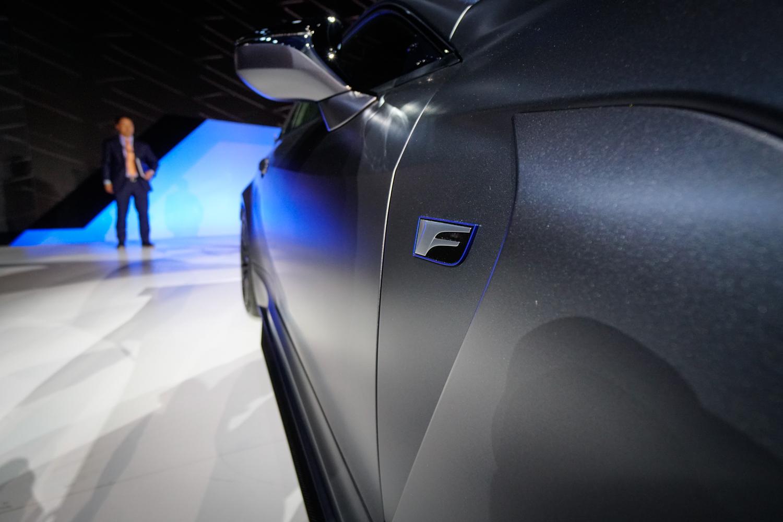 2020 Lexus RC F Track Edition side