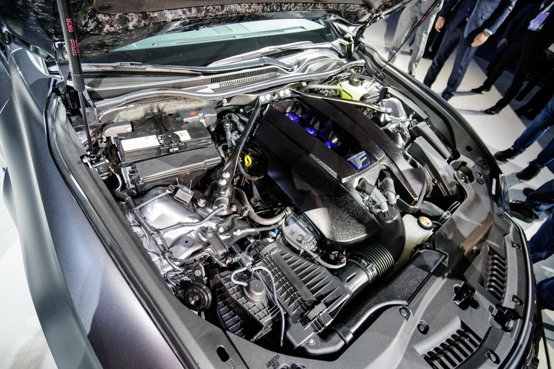 2020 Lexus RC F Track Edition engine