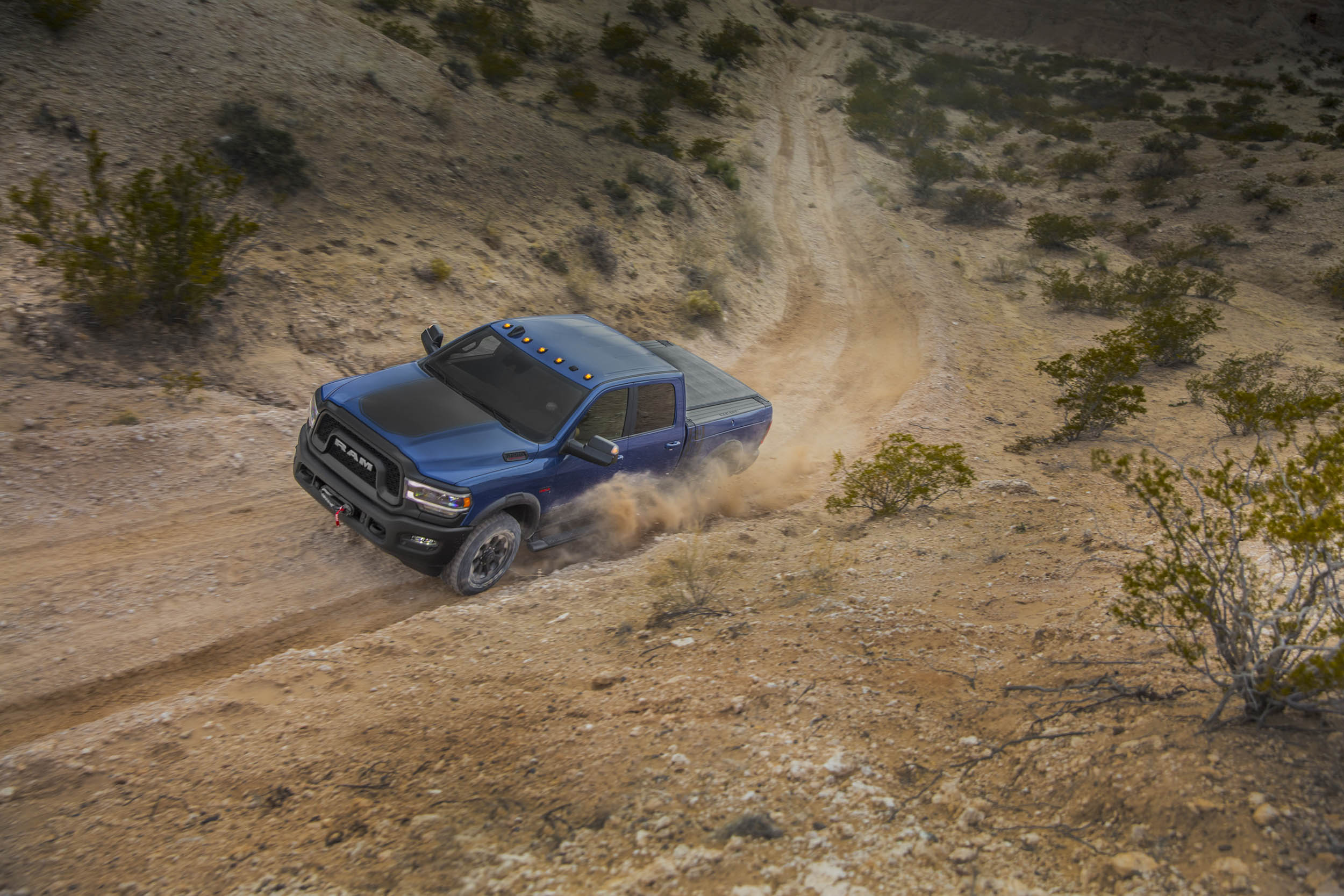2019 RAM Power Wagon on the trails