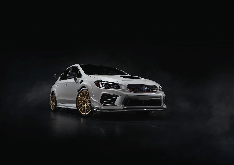 2020 Subaru WRX STI S209 3/4 front low