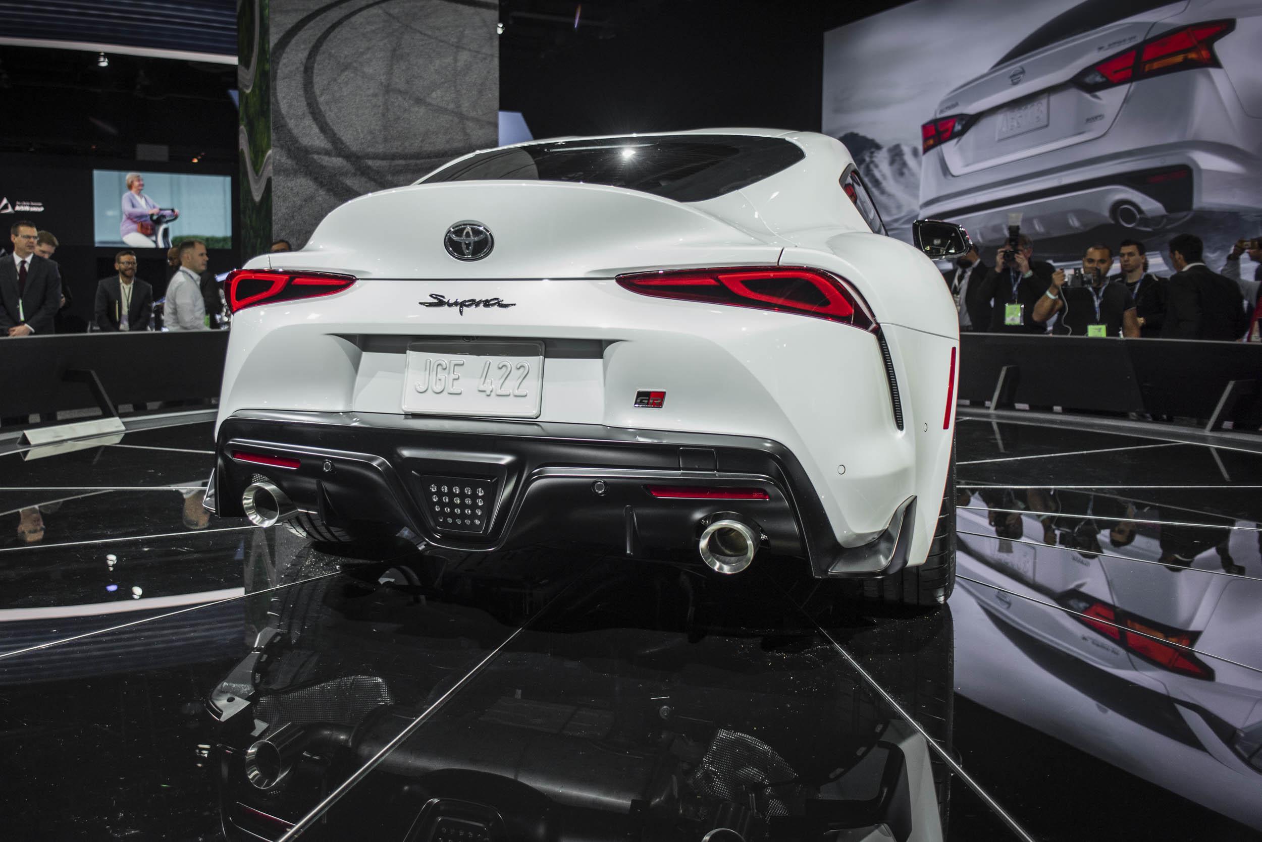 2020 Toyota Supra at the NAIAS