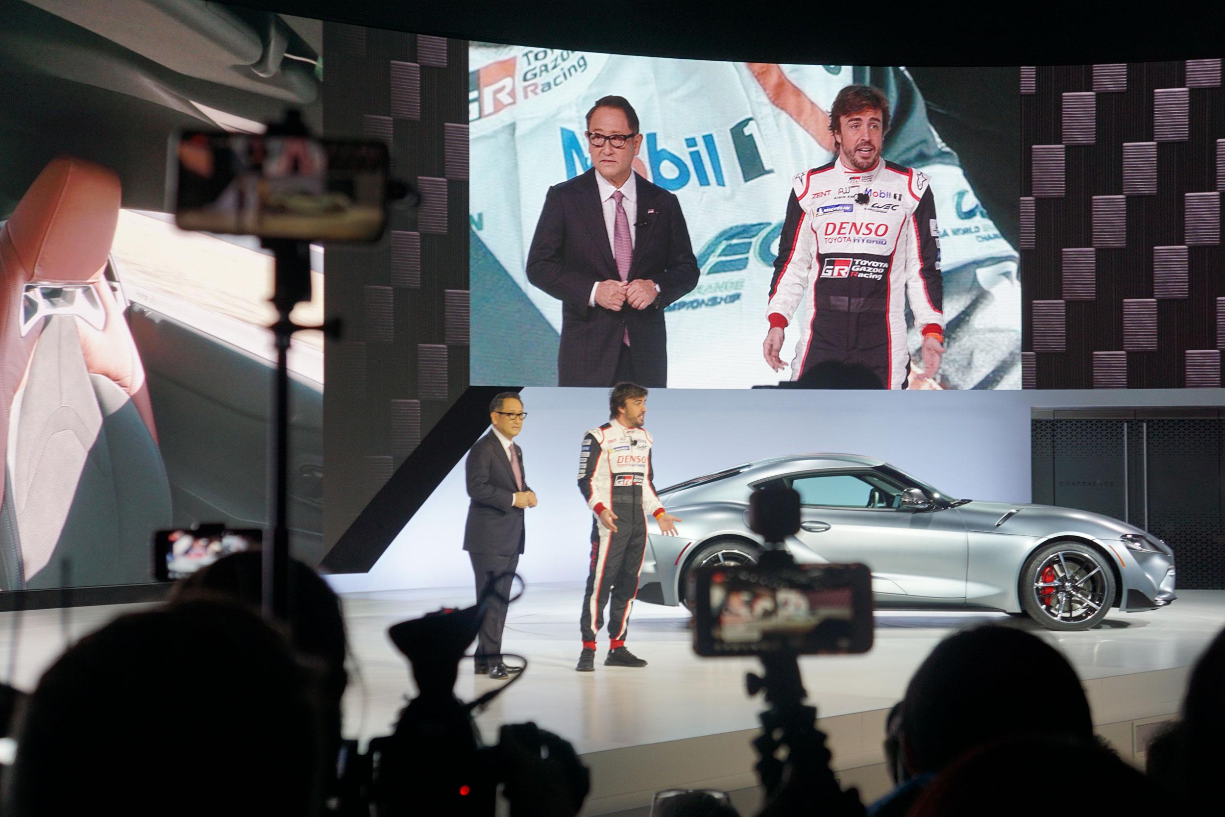 2020 Toyota Supra reveal