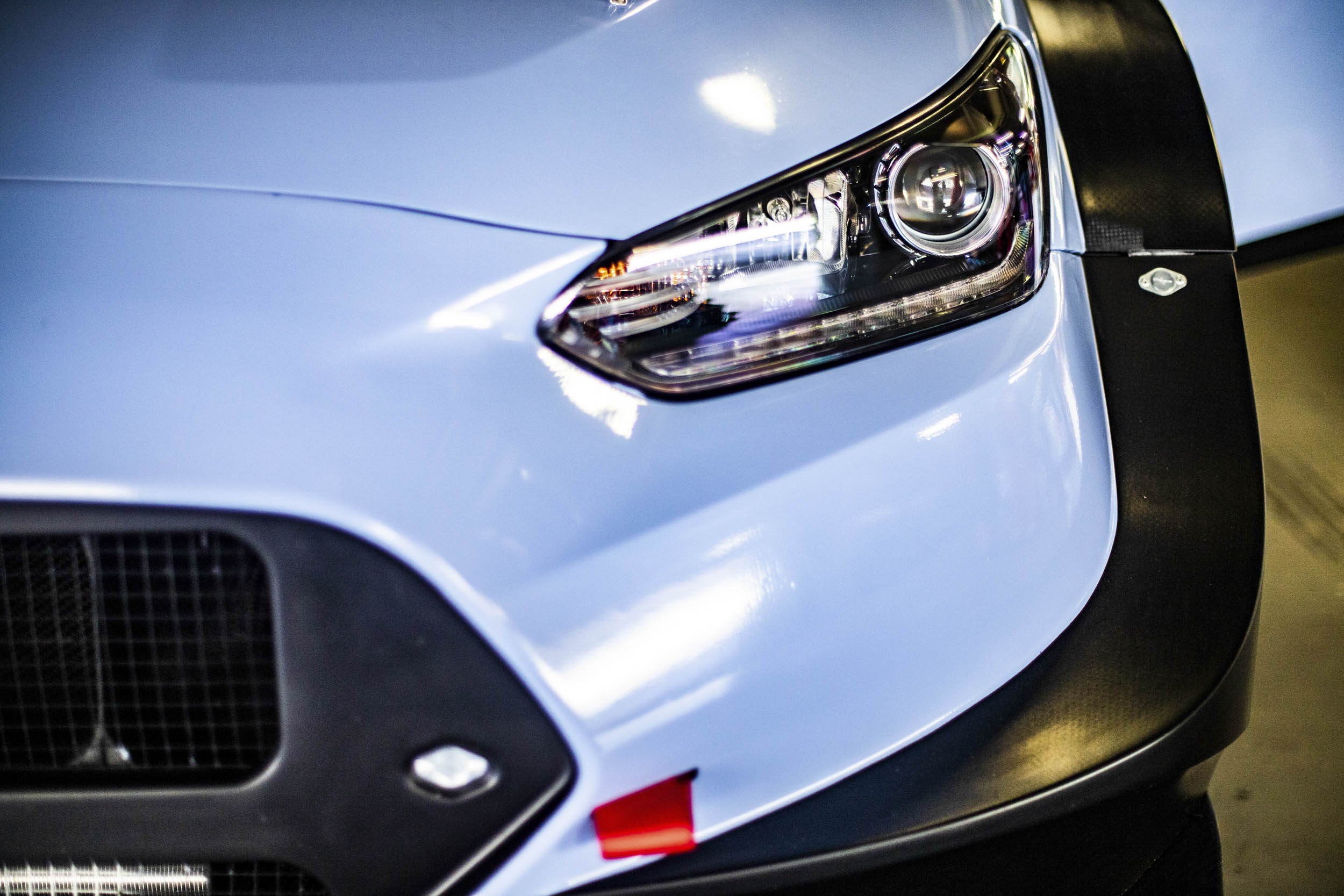 Hyundai Veloster N TCR headlight