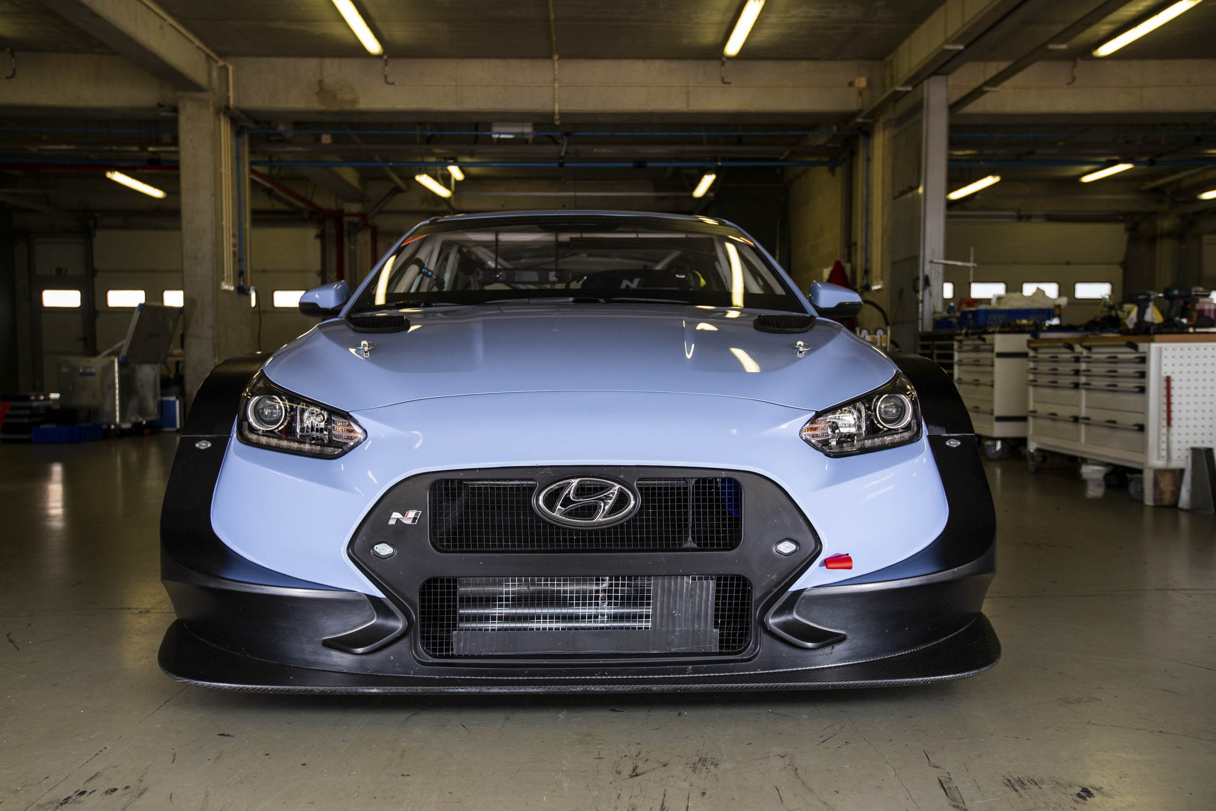 Hyundai Veloster N TCR front