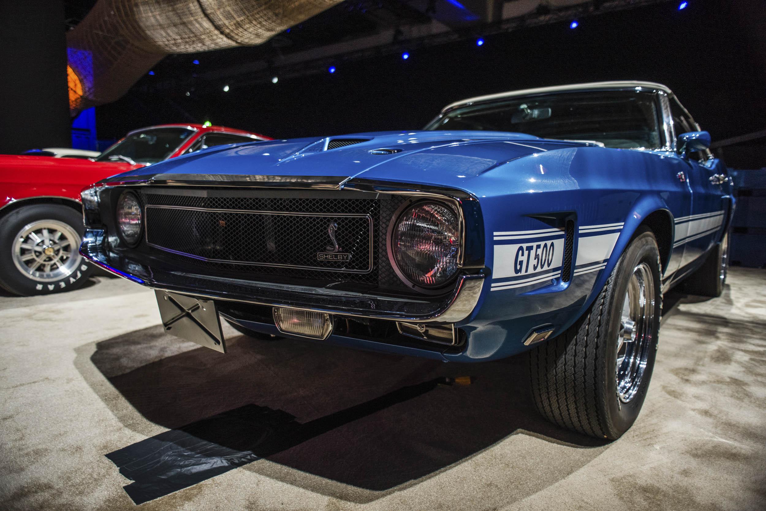 Blue Vintage GT500