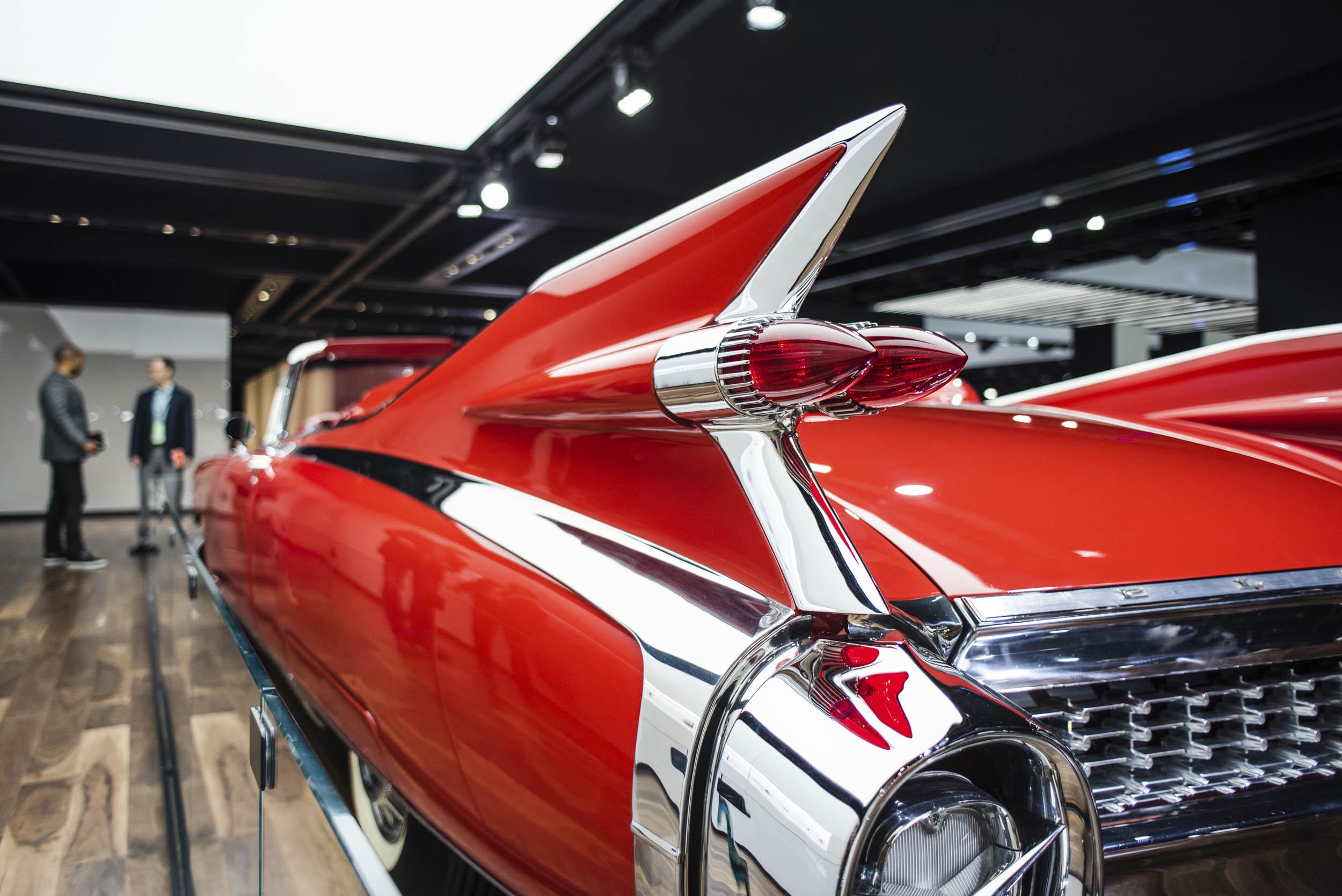 1959 Cadillac Eldorado fin detail