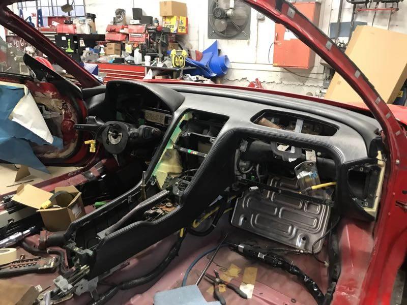 Zanardi Edition Acura NSX restoration