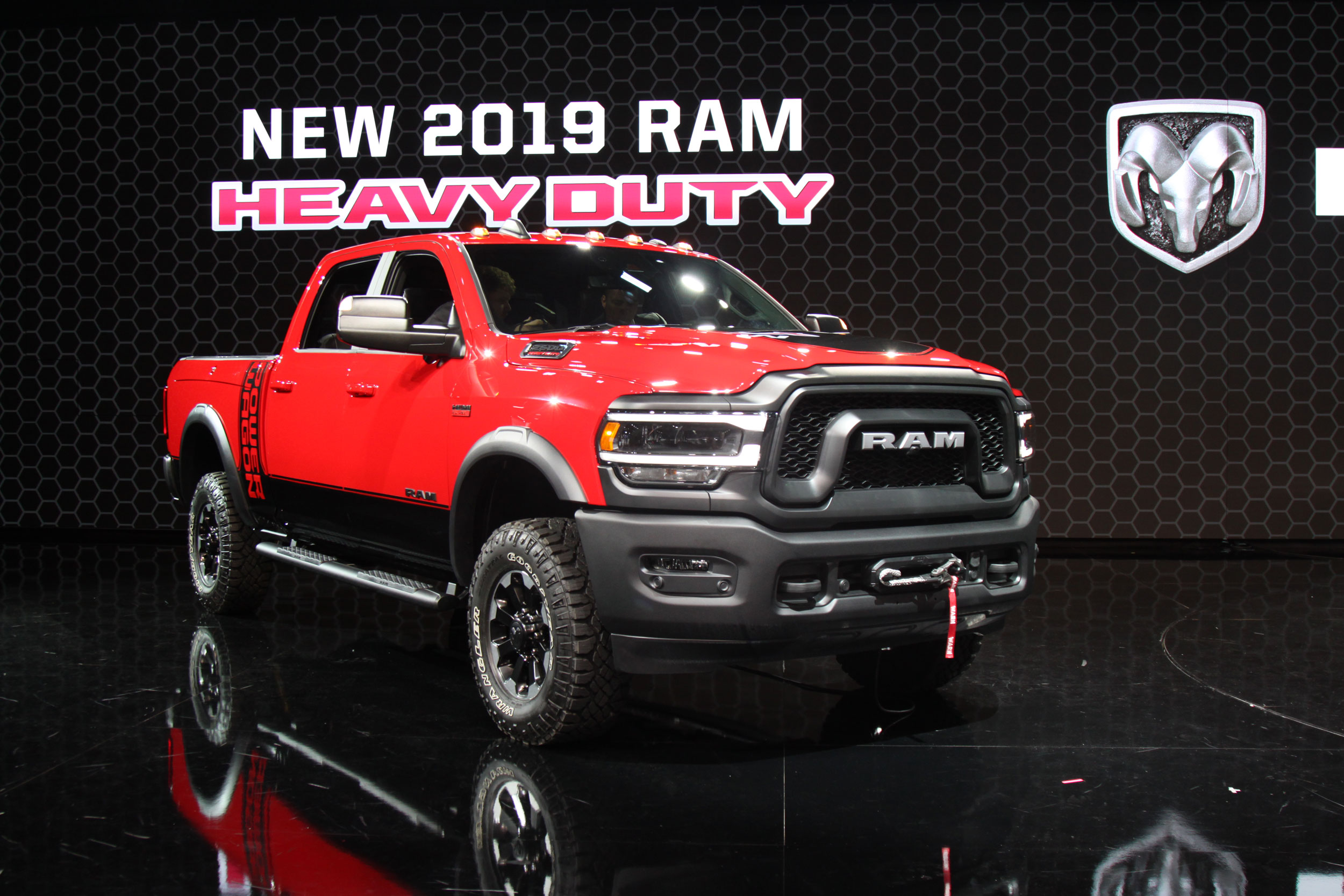 2019 RAM Power Wagon at the NAIAS