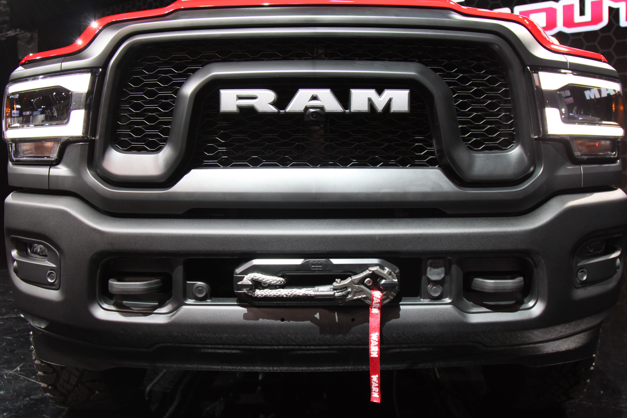 2019 RAM Power Wagon nose