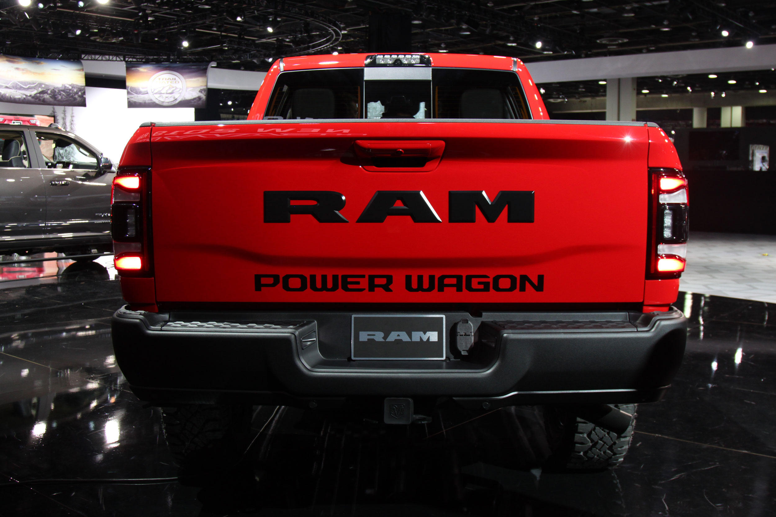 2019 RAM Power Wagon rear