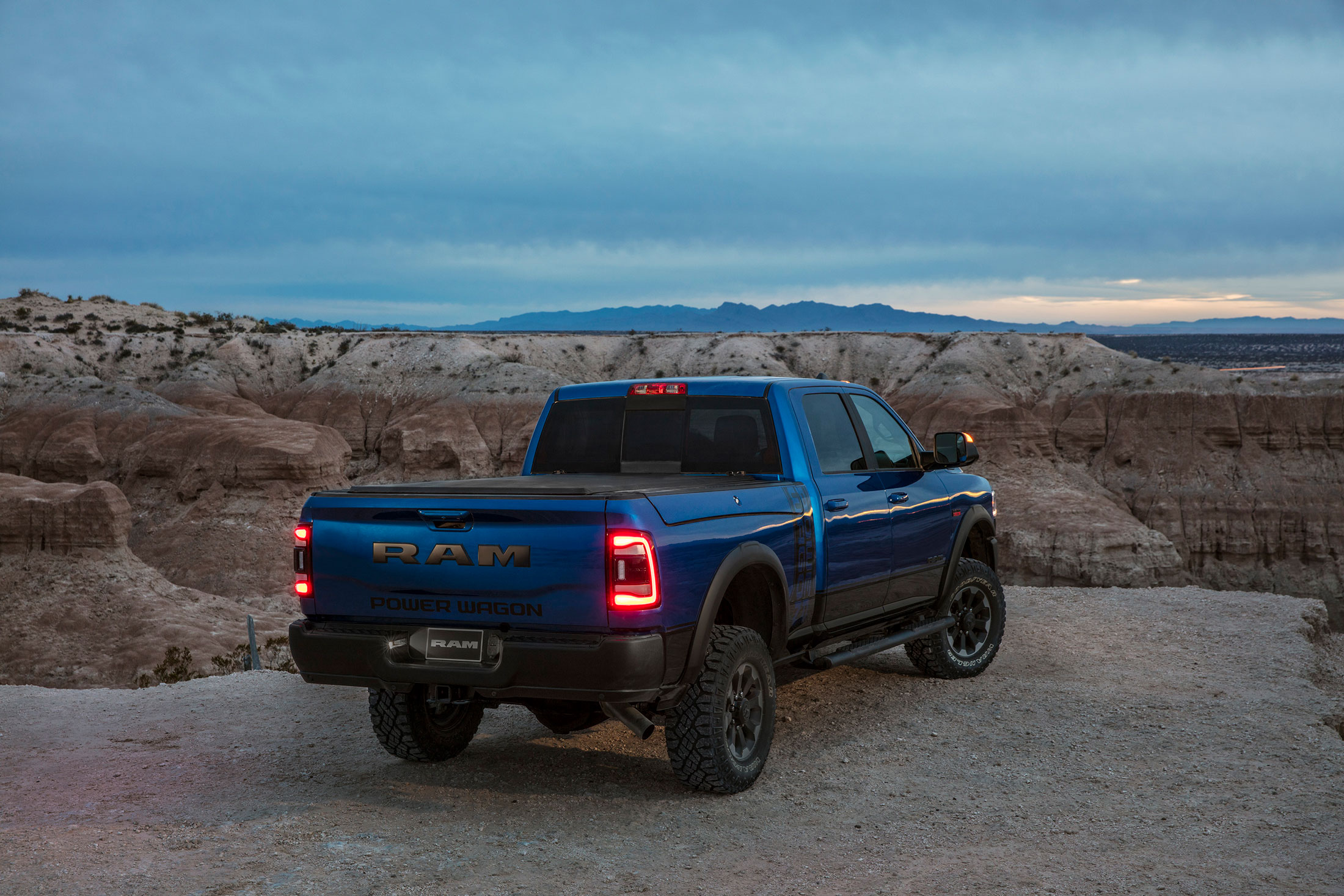 2019 RAM Power Wagon rear 3/4