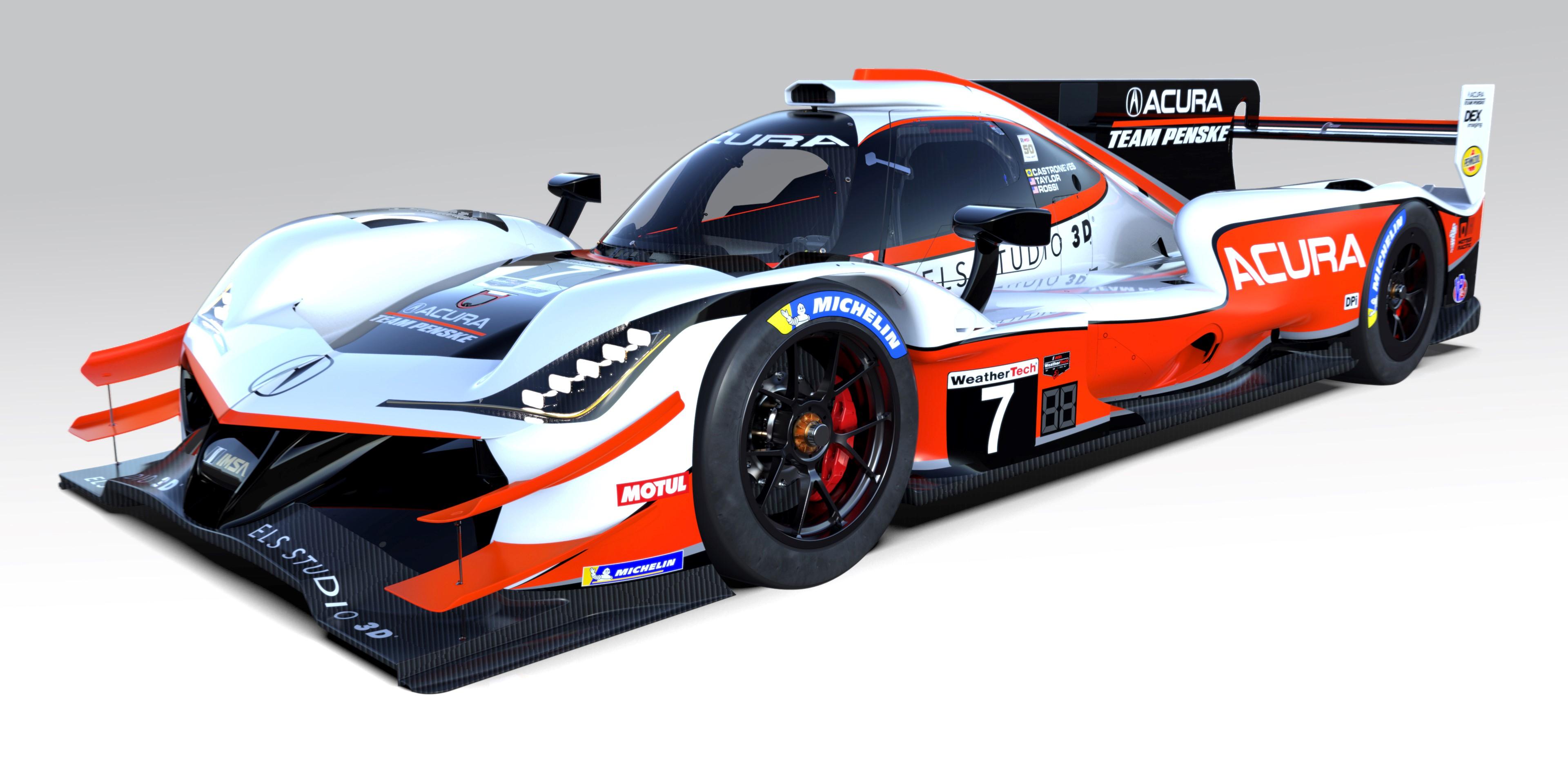 2019 Acura Team Penske No. 7 ARX-05 Prototype