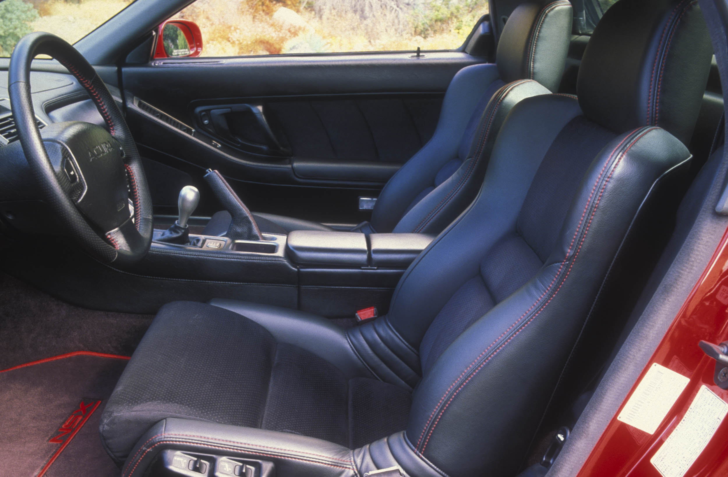 Zanardi Edition Acura NSX interior