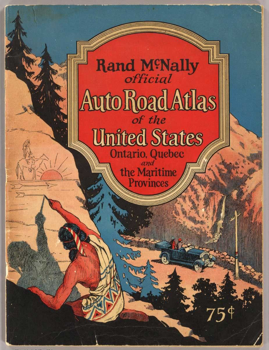 Official auto road atlas of the United States