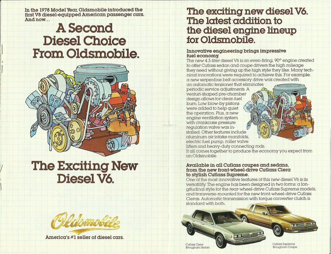 Oldsmobile diesel engine