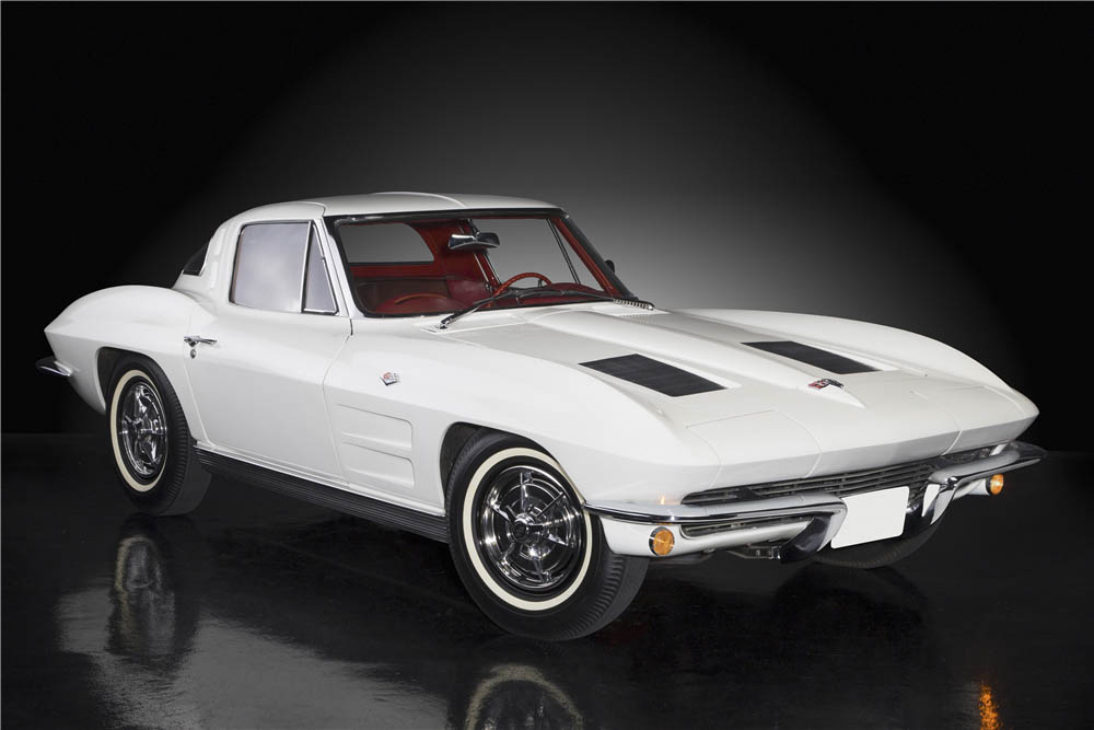 1963 Chevrolet Corvette Split-Window Coupe front 3/4