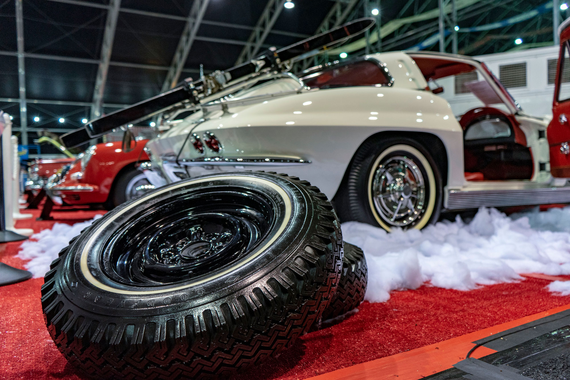 1963 Chevrolet Corvette snow tires
