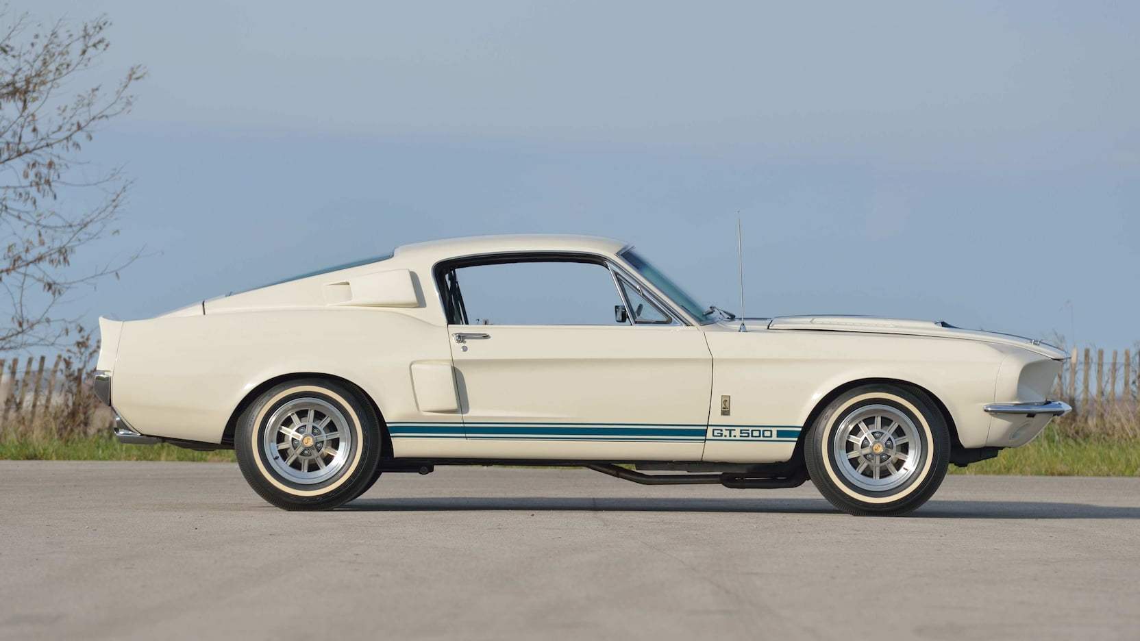 1967 Shelby GT500 Super Snake side profile