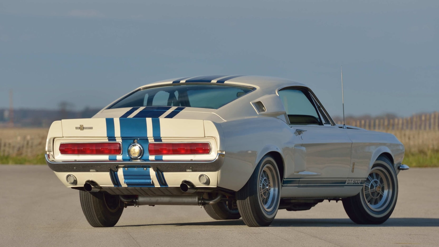 1967 Shelby GT500 Super Snake rear 3/4