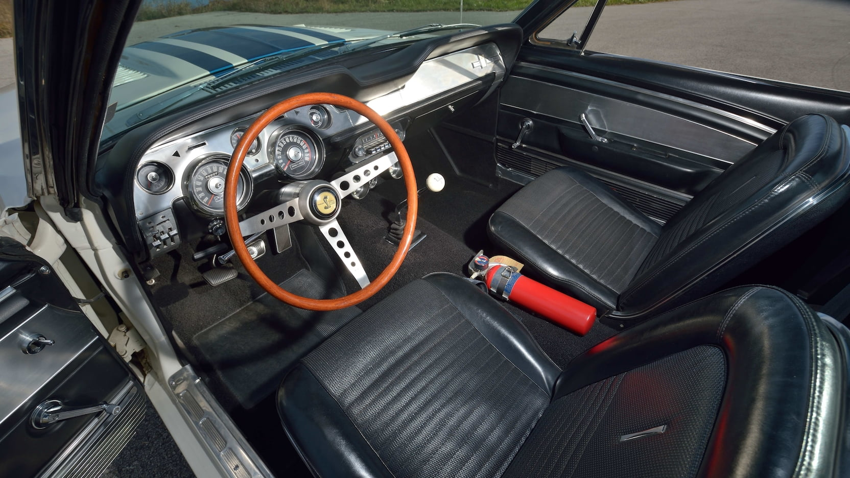 1967 Shelby GT500 Super Snake interior