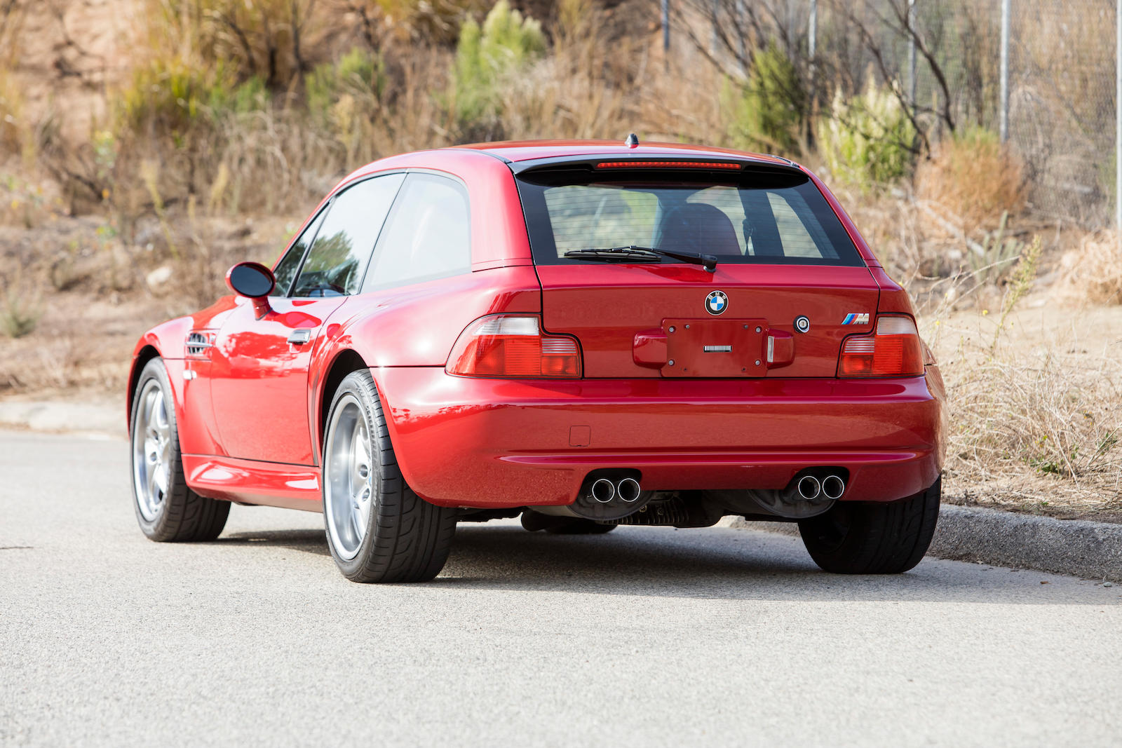 2002 BMW Z3 M Coupe rear 3/4