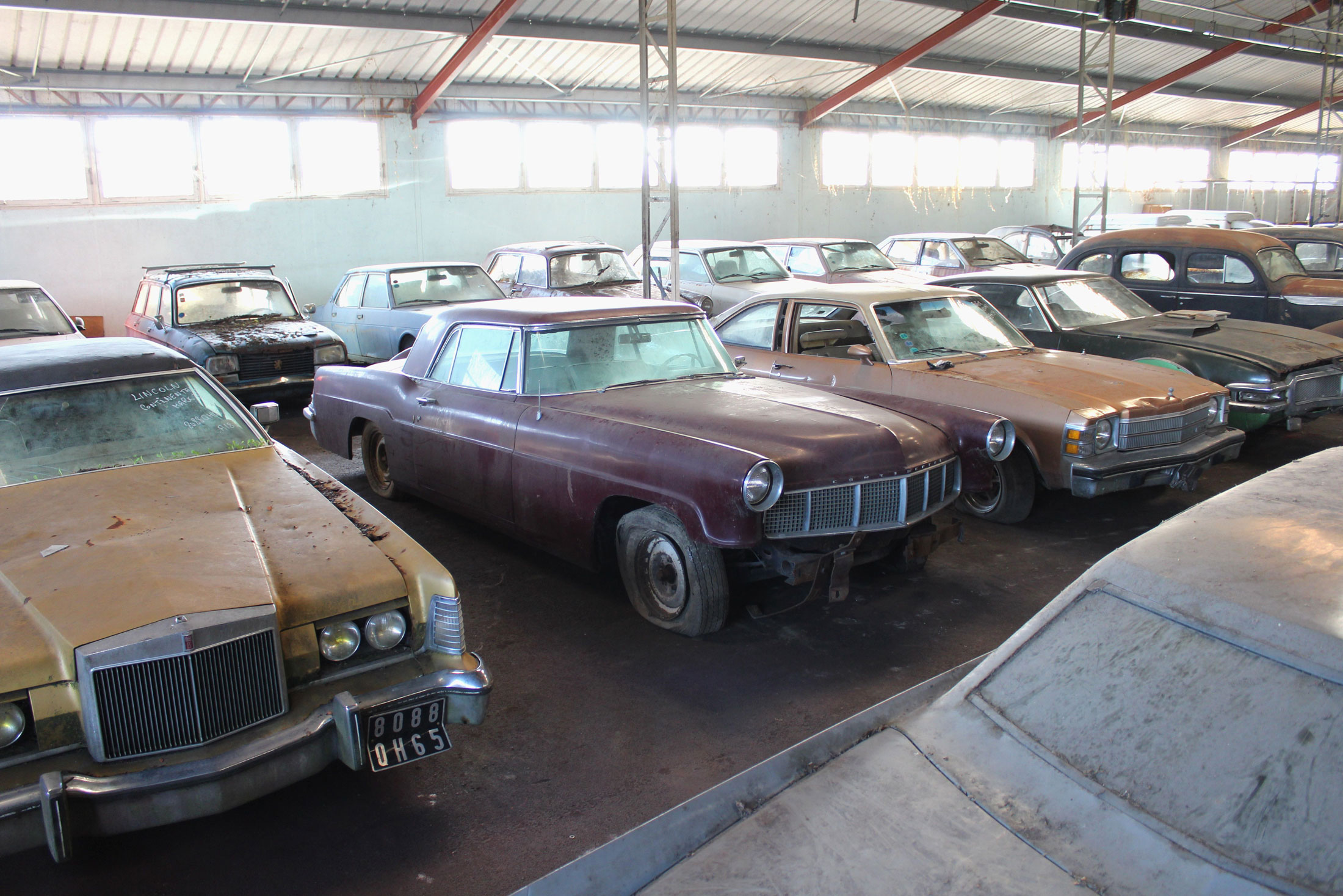 French Barn Find group shot