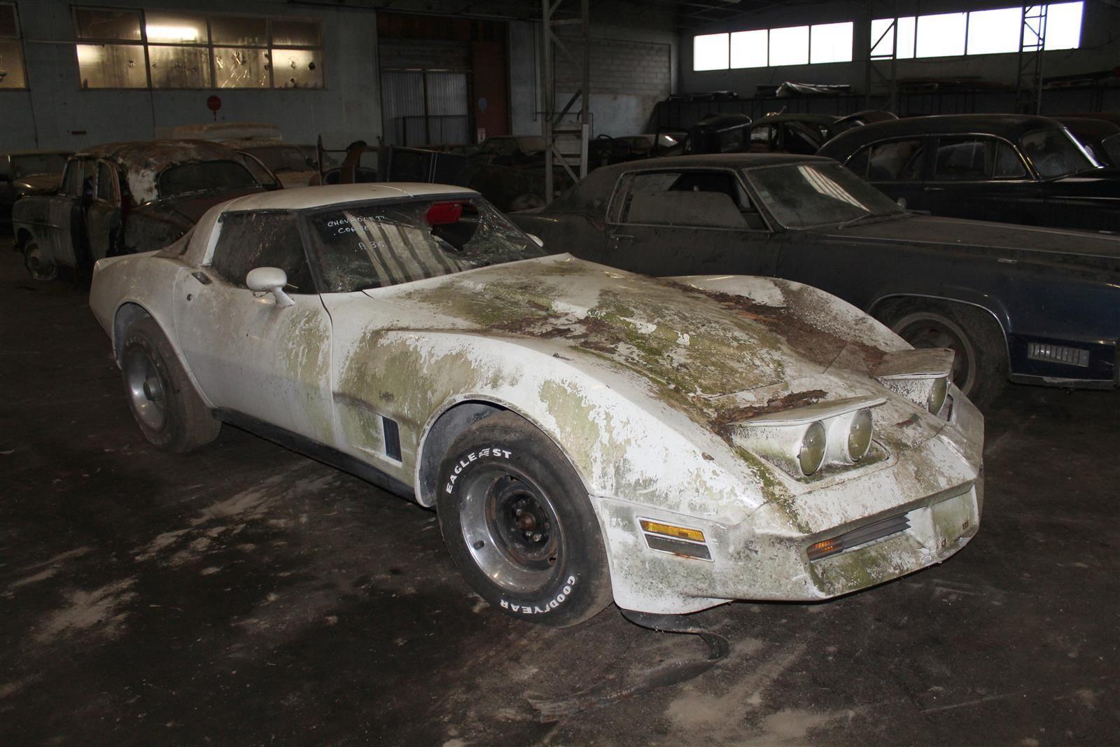Chevrolet Corvette front 3/4