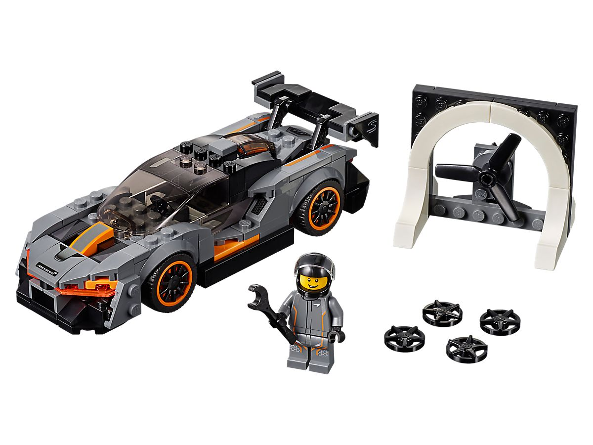 Get your very own McLaren Senna (made out of LEGOs) thumbnail