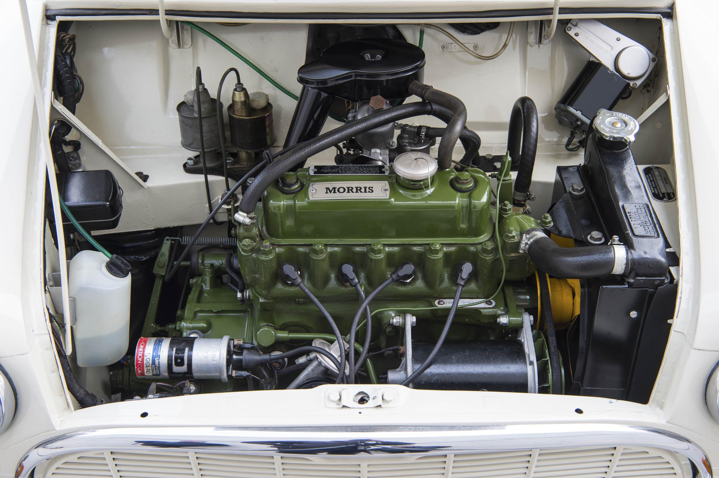 1959 Morris Mini-Minor engine