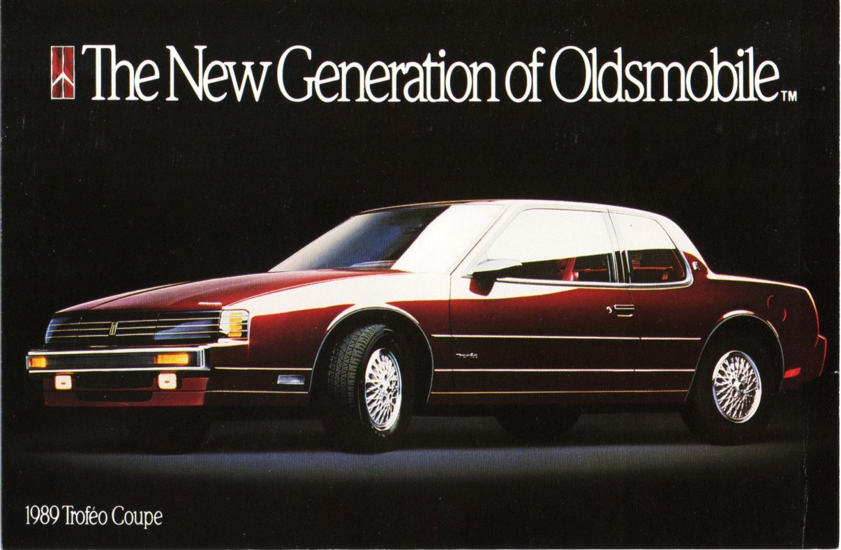 1989 Oldsmobile Toronado Trofeo advert
