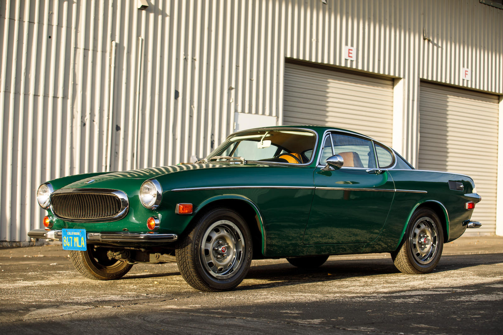 This handsome green 1972 Volvo 1800E just sold for a record price thumbnail