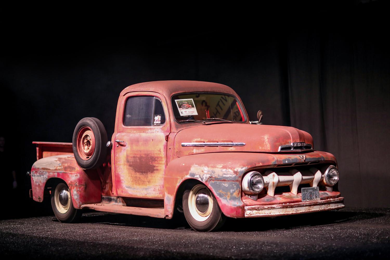 1951 Ford F-1 custom pickup