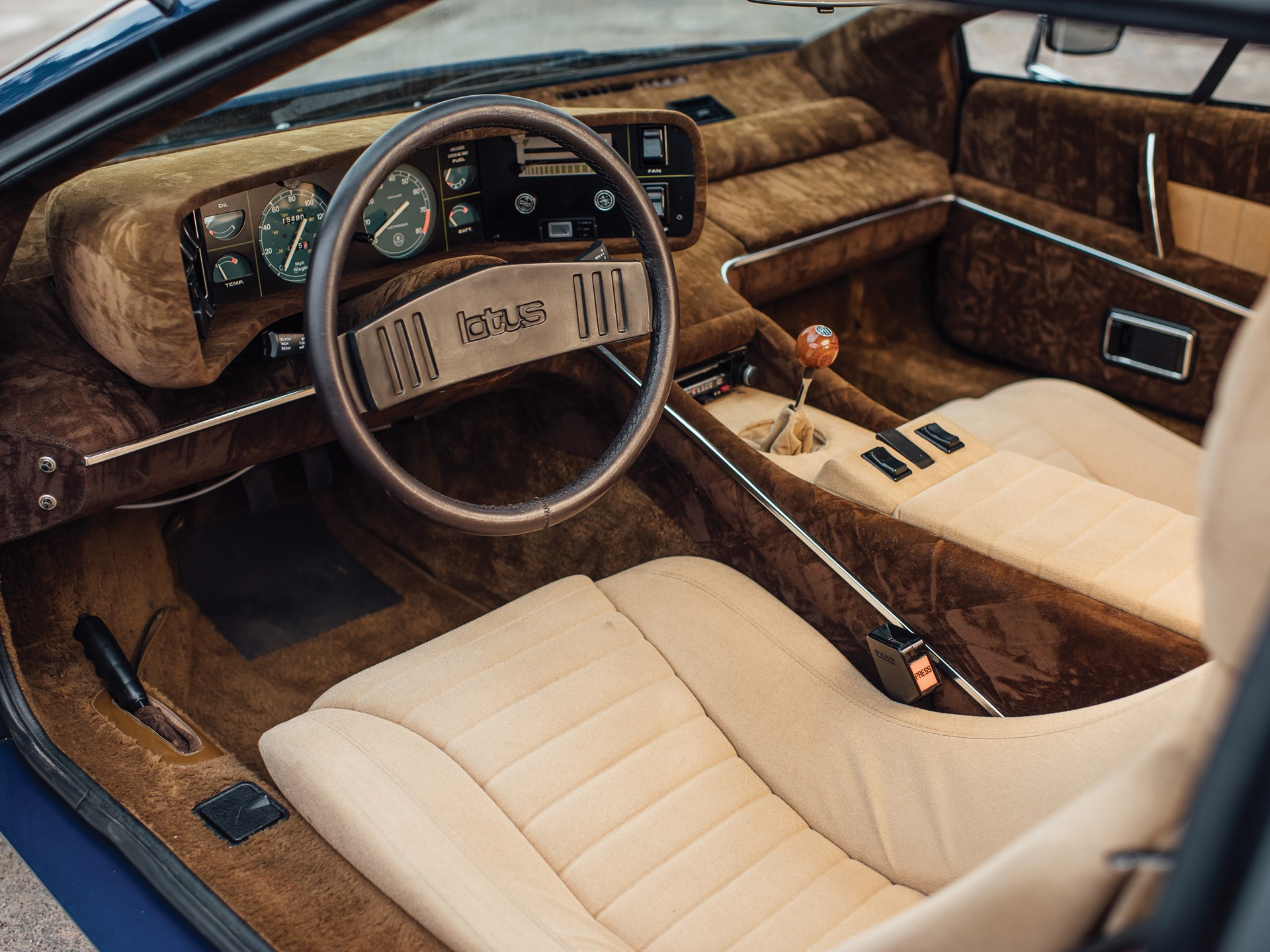 1977 Lotus Esprit Series 1 interior driver