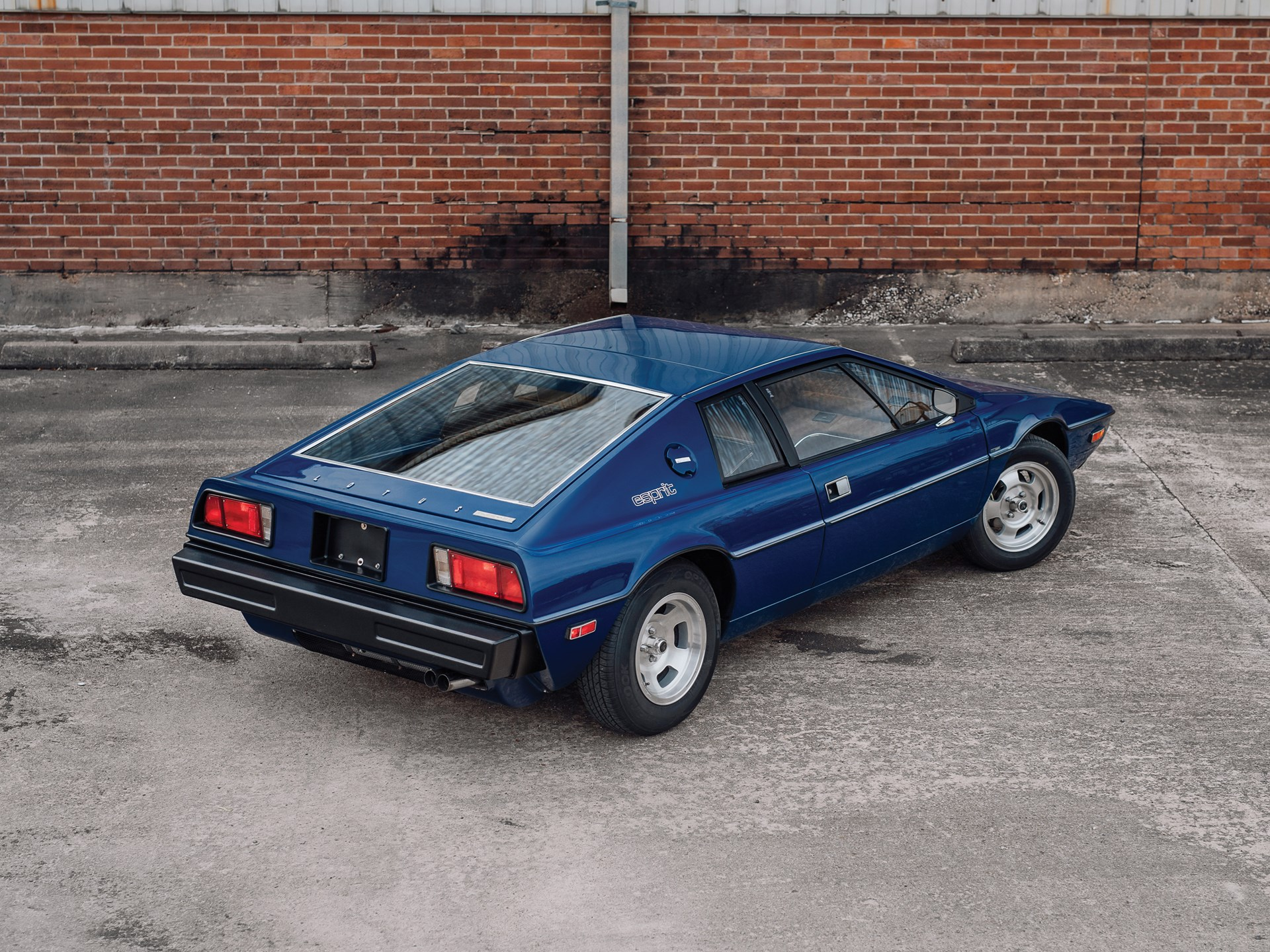 1977 Lotus Esprit Series 1 3/4 rear